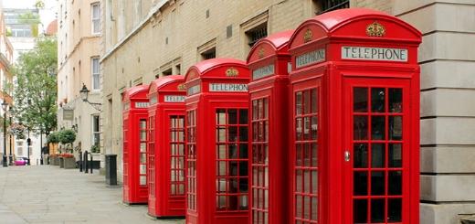 История возникновения красной телефонной будки