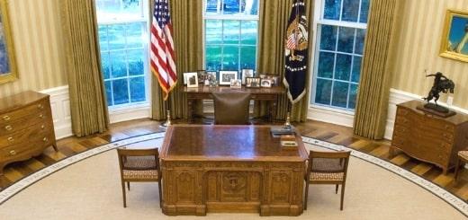 Как выглядят 12 рабочих столов мировых лидеров по всему миру