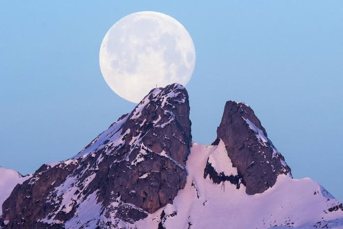 Ле Жамель в швейцарских Альпах