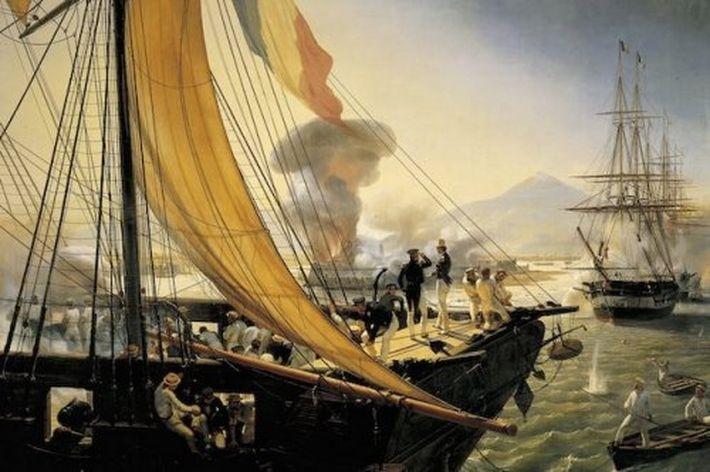 Мексика вступила в войну с Францией