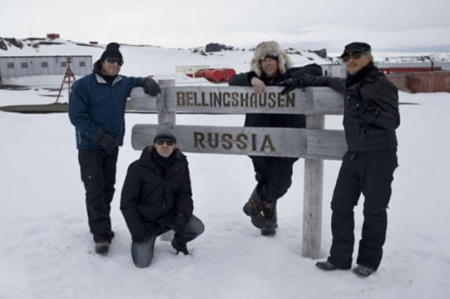 Металлика в Антарктиде