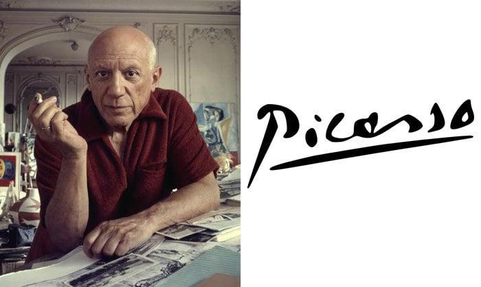 Подпись Пабло Пикассо