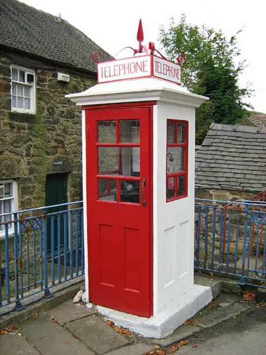 Первая телефонная будка К1