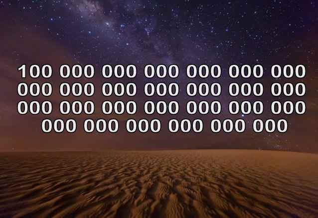 Число атомов во Вселенной