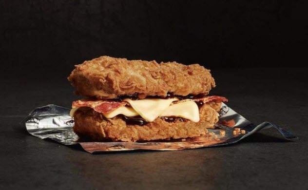 «Double Down» – вот настоящий бургер