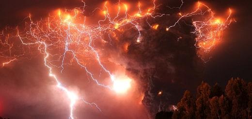 6 самых мощных извержений вулканов в истории