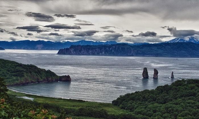 Авачинская бухта на Камчатке