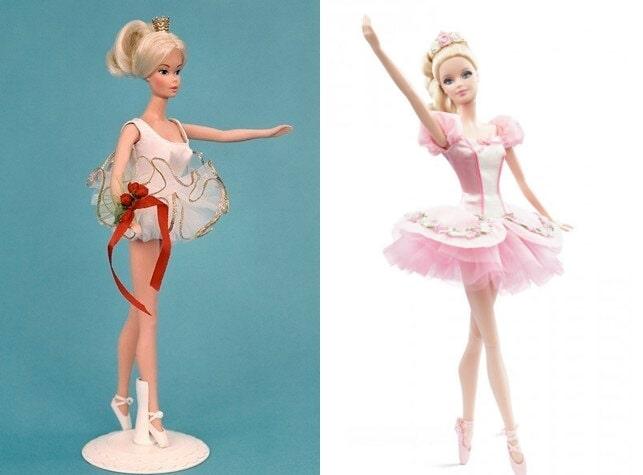 Барби Балерина, 1973 г. и Барби, 2014 г.