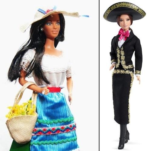 Барби Итальянка, 1979 г. и Кукла Барби Мексика, 2014