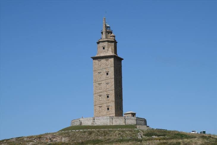 """""""Hercules tornya"""", La Coruna, Spanyolország"""