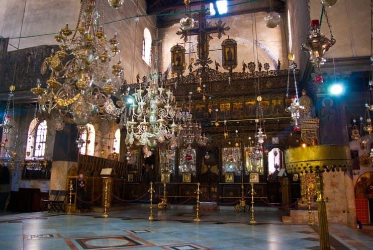 Betlehem, Palesztina Betlehemes Bazilika