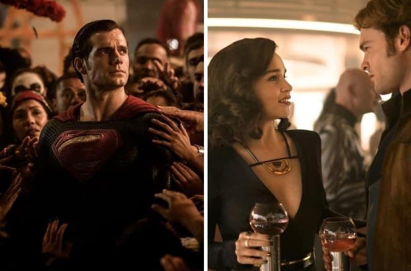 Бэтмен против Супермена: На заре справедливости (2016), Хан Соло: Звёздные Войны. Истории