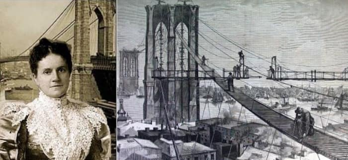 Первая женщина, которая пересекла мост, контролировала его строительство