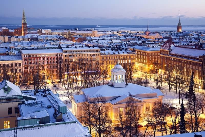 Финляндия считается самой счастливой страной в мире
