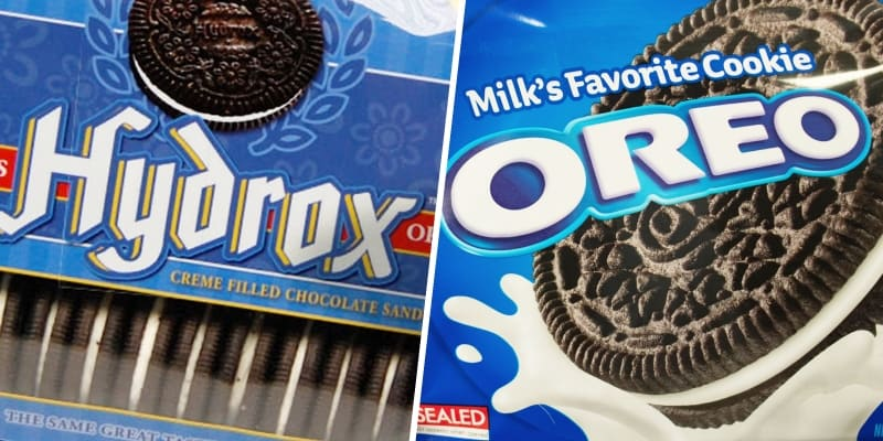 Hydrox - это оригинал, Oreo - подделка