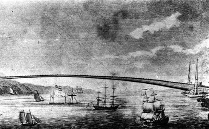 Идея Бруклинского - Манхэттенского моста