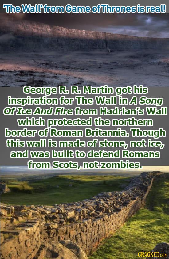 Стена из «Игры престолов»