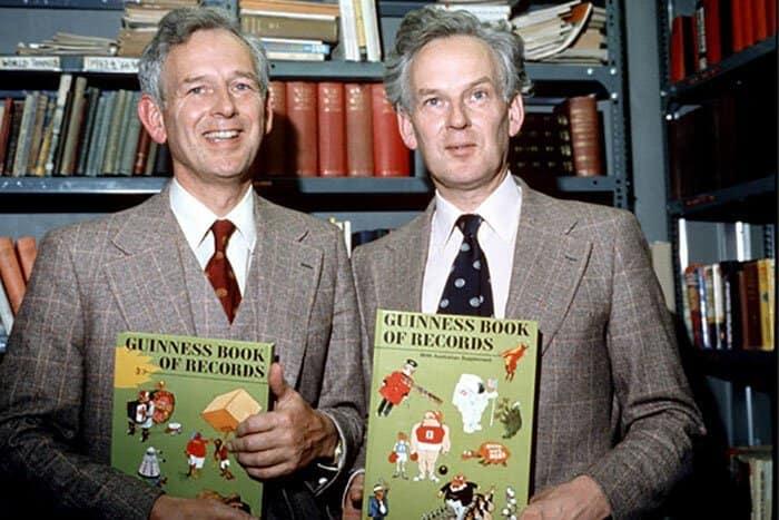 Идея Книги рекордов Гиннеса пришла к сэру Хью Биверу в 1950-х годах, когда он поспорил в пабе о том, какая птица - самая быстрая в Европе