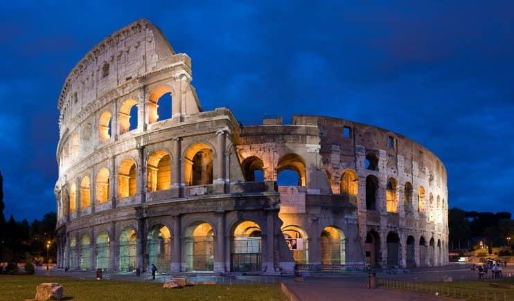 Colosseum, Róma, Olaszország