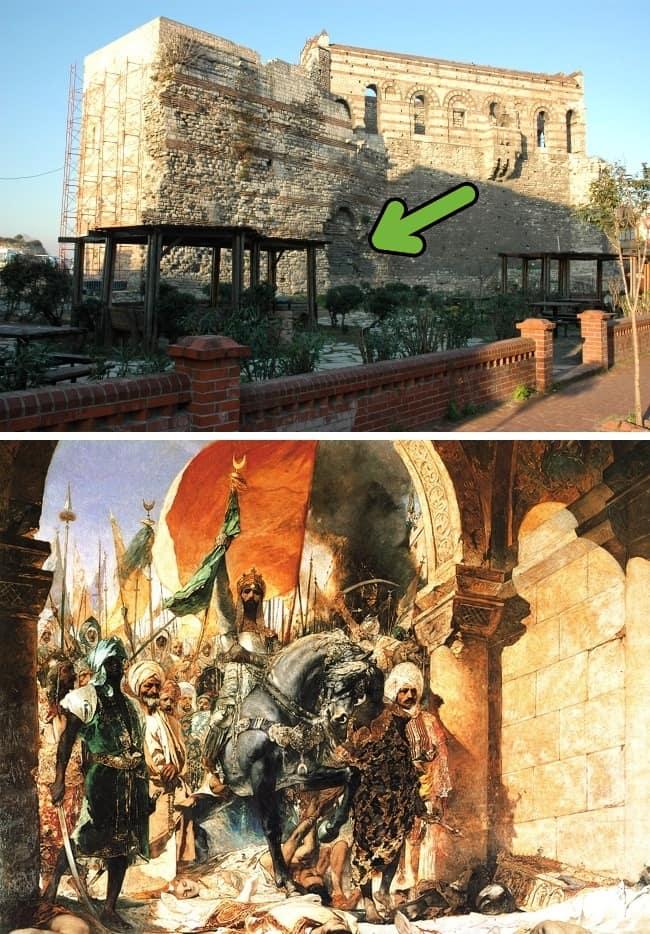 Константинополь и незапертые ворот