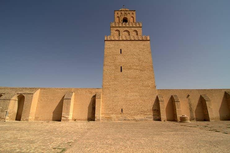 Ukba mecset, Kairouan, Tunézia
