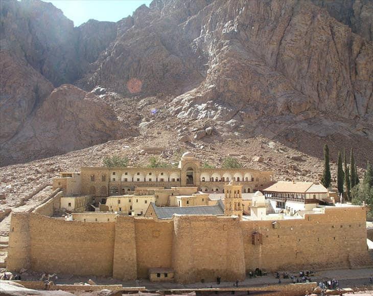Szent Katalin kolostor, a Sínai-félsziget, Egyiptom