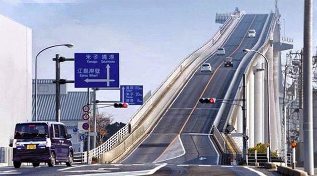 Мост Эшима Охаси, Япония