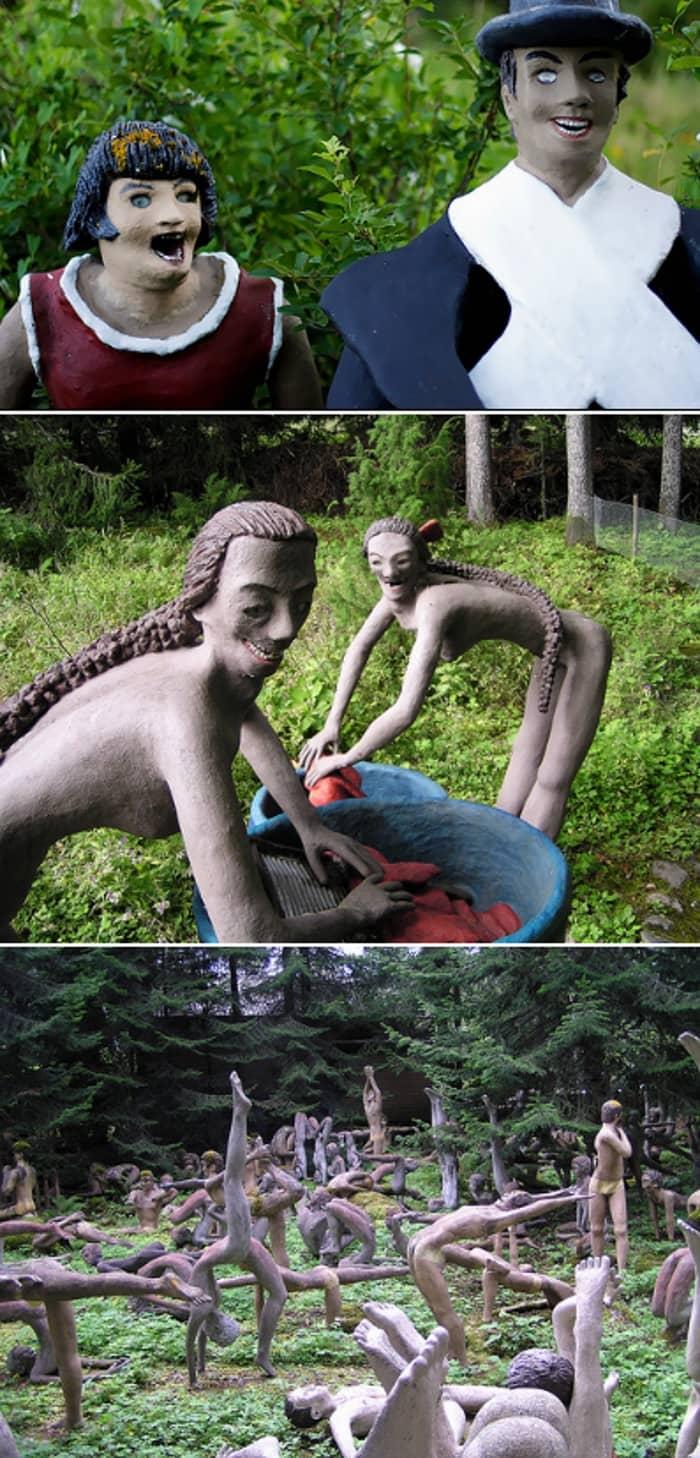 Парк скульптур Вейо Рёнккёнена (Финляндия)