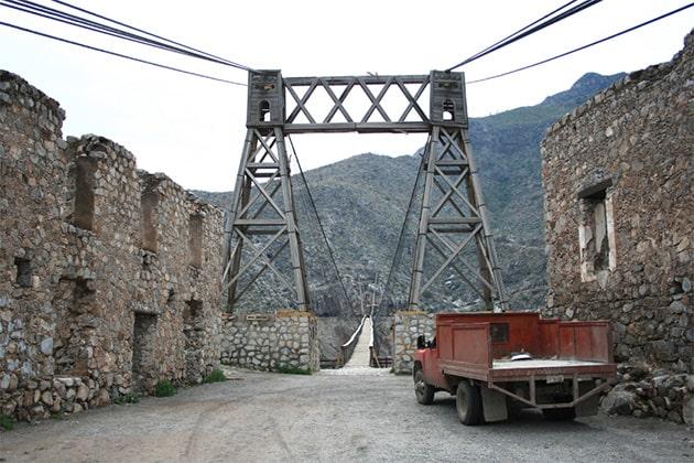 Подвесной мост Охуэла