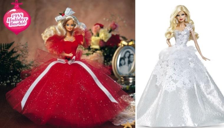 Праздничная Барби, 1988 г. и Барби Праздничная, 2013
