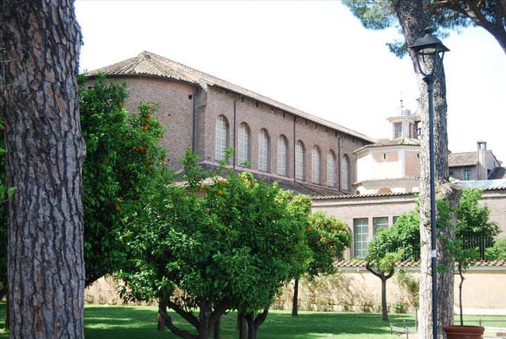 Santa Sabina bazilika, Róma, Olaszország