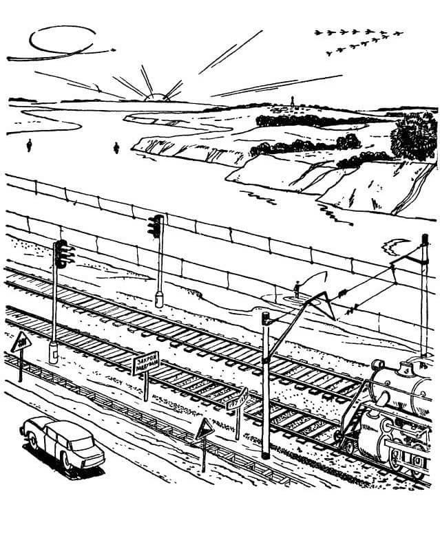Советская загадка на логику про железную дорого