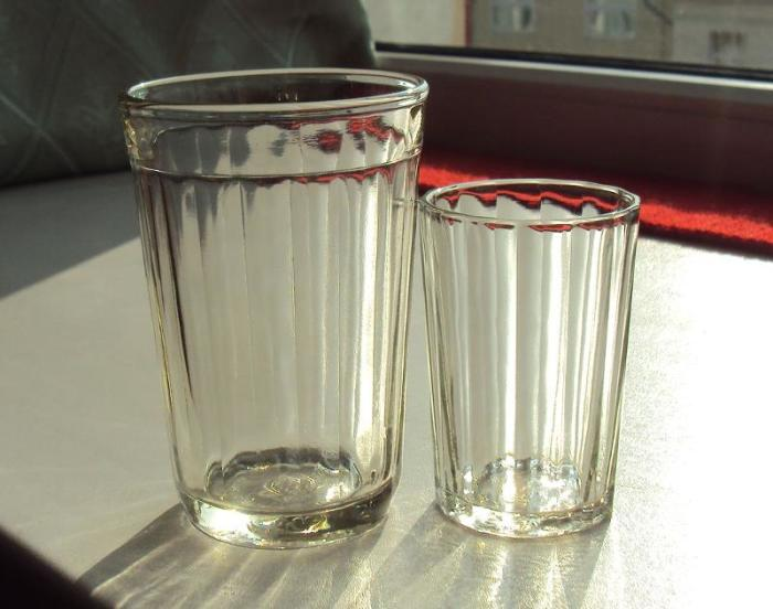 Сколько граней у стакана и почему
