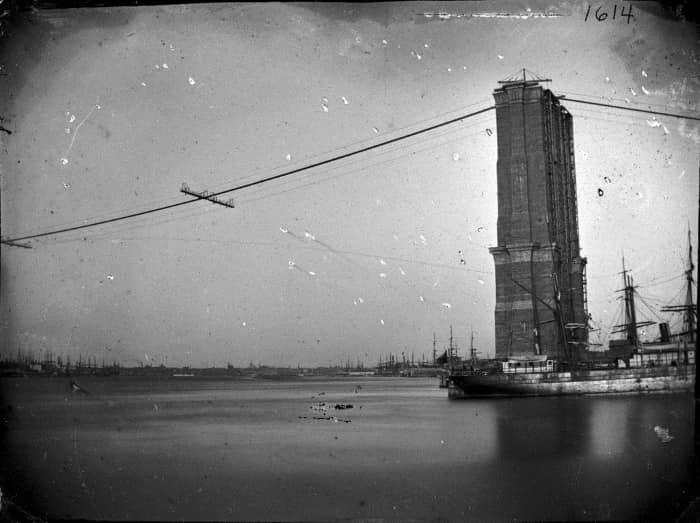 Башни имели решающее значение для успеха моста