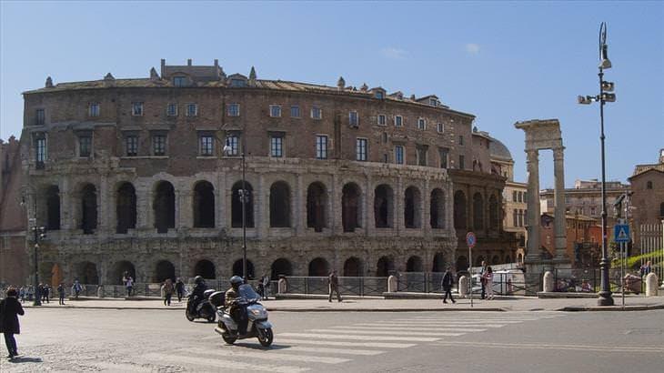 Színház Marcellus, Róma, Olaszország