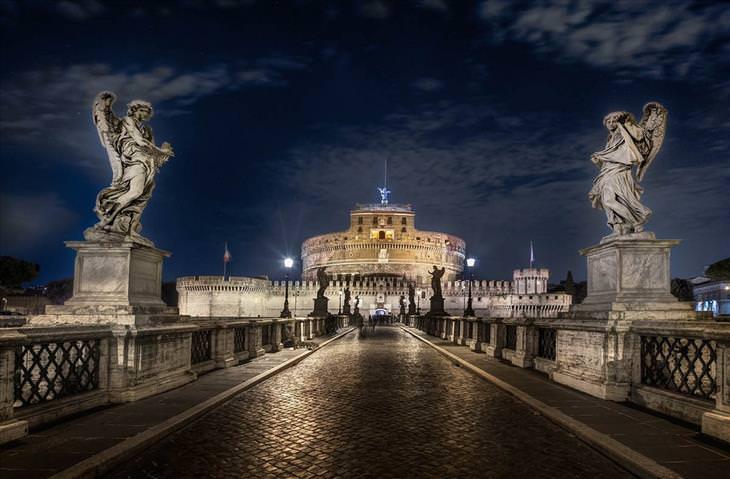 Castel Sant'Angelo, Róma, Olaszország