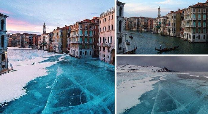 Замороженная Венеция