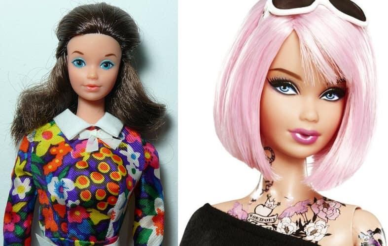 Занятая Стеффи, 1971 г. Барби Токидоки, 2011 г.