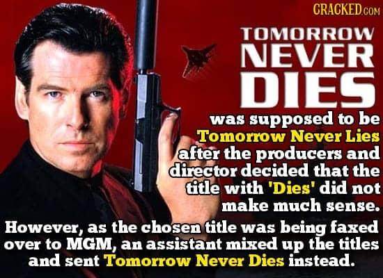 Завтра не умрёт никогда