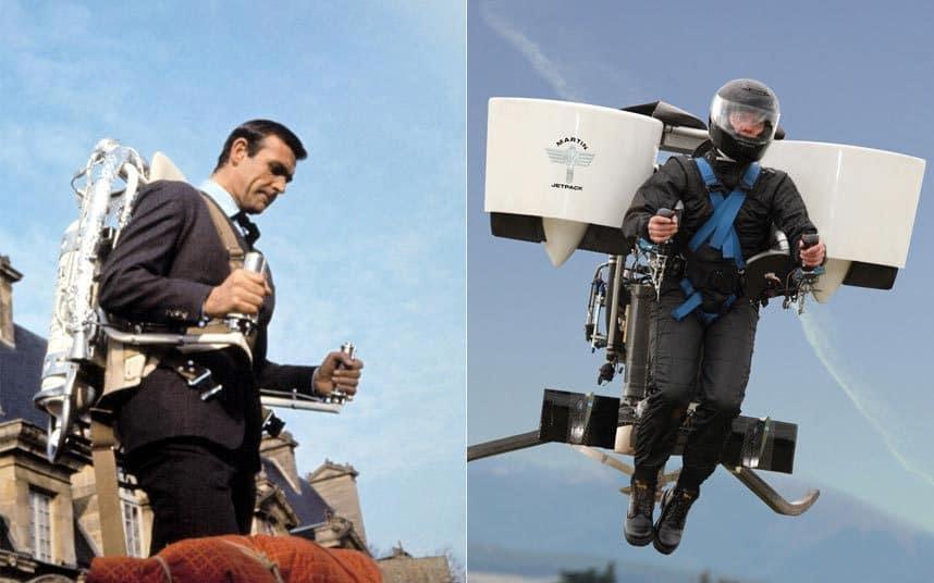Реактивный ранец или ракетный ранец