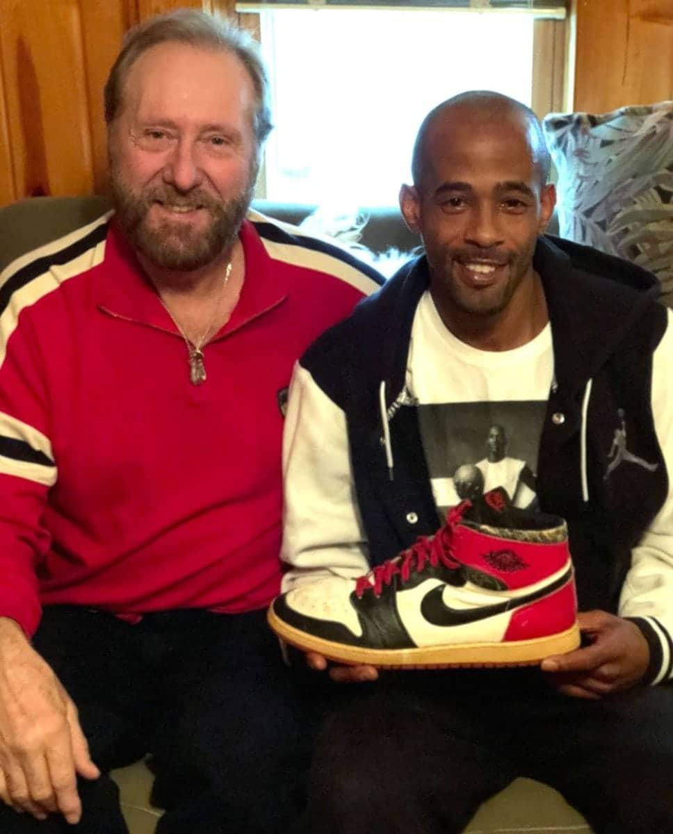 кроссовки Майкла Джордана