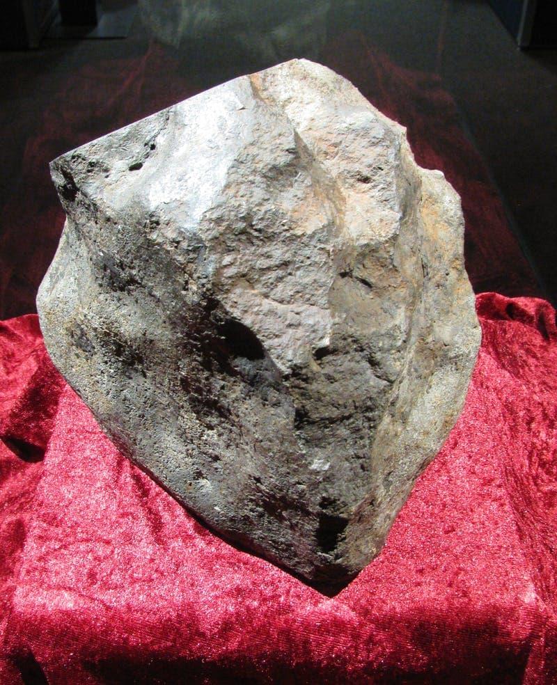 настоящий метеорит