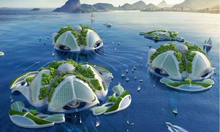 Будущие океаноскребы