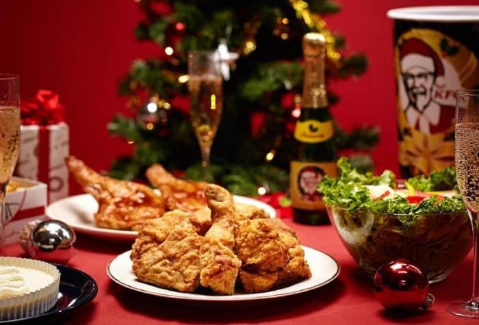 традиция есть блюда из KFC