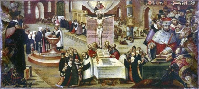 Реформация внесла свою лепту