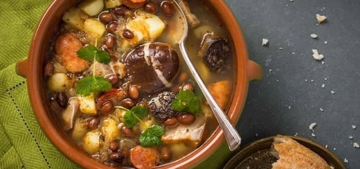 Аналог каши из топора: суп из камня