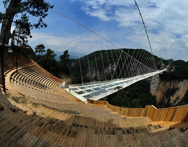 висячий мост Чжанцзяцзе