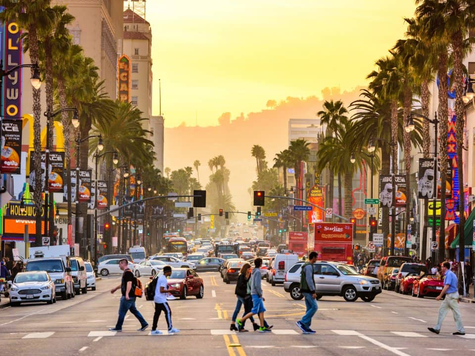 10. Лос-Анджелес, США