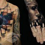 20 впечатляющих 3D-татуировок, которые сделали из тела арт-объект
