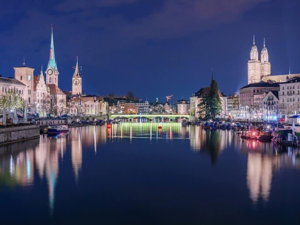 4. Цюрих, Швейцария